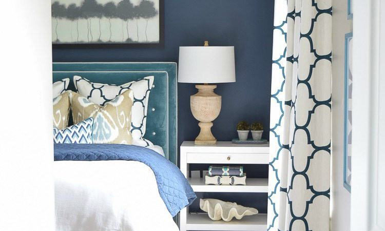 best of 2016 navy aqua guest room