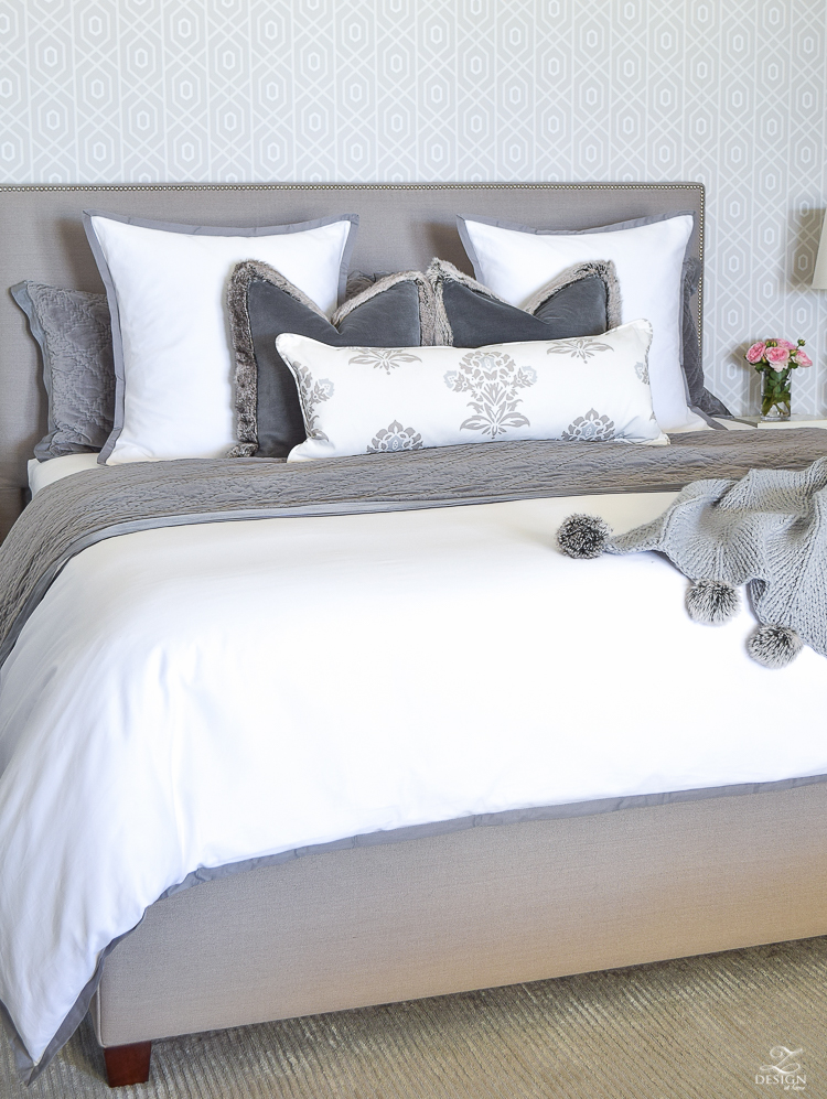 How to make bed sheet Duvet Cover By Not Having Too Many Pillows On The Bed As Clutter Can Mean Chaos And The Last Thing You Want In The Bedroom Is Chaos In My Opinion How To Make Zdesign At Home Easy Steps For Making Beautiful Bed Zdesign At Home