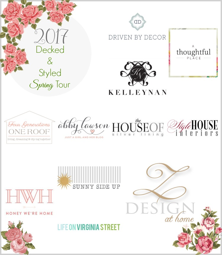 2017 decked & styled spring tour hosted by ZDesign At Home