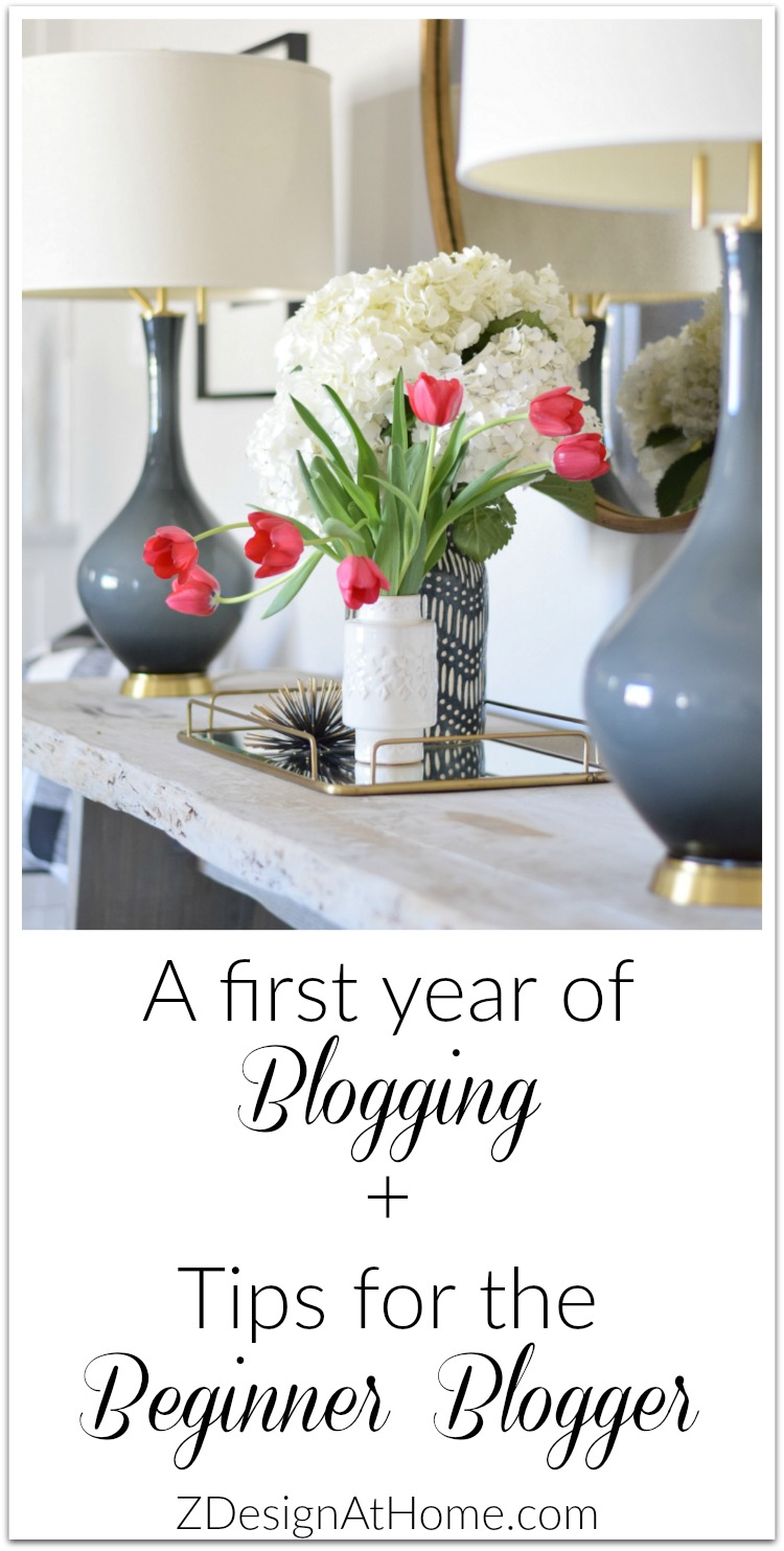 first year of blogging tips for beginner bloggers