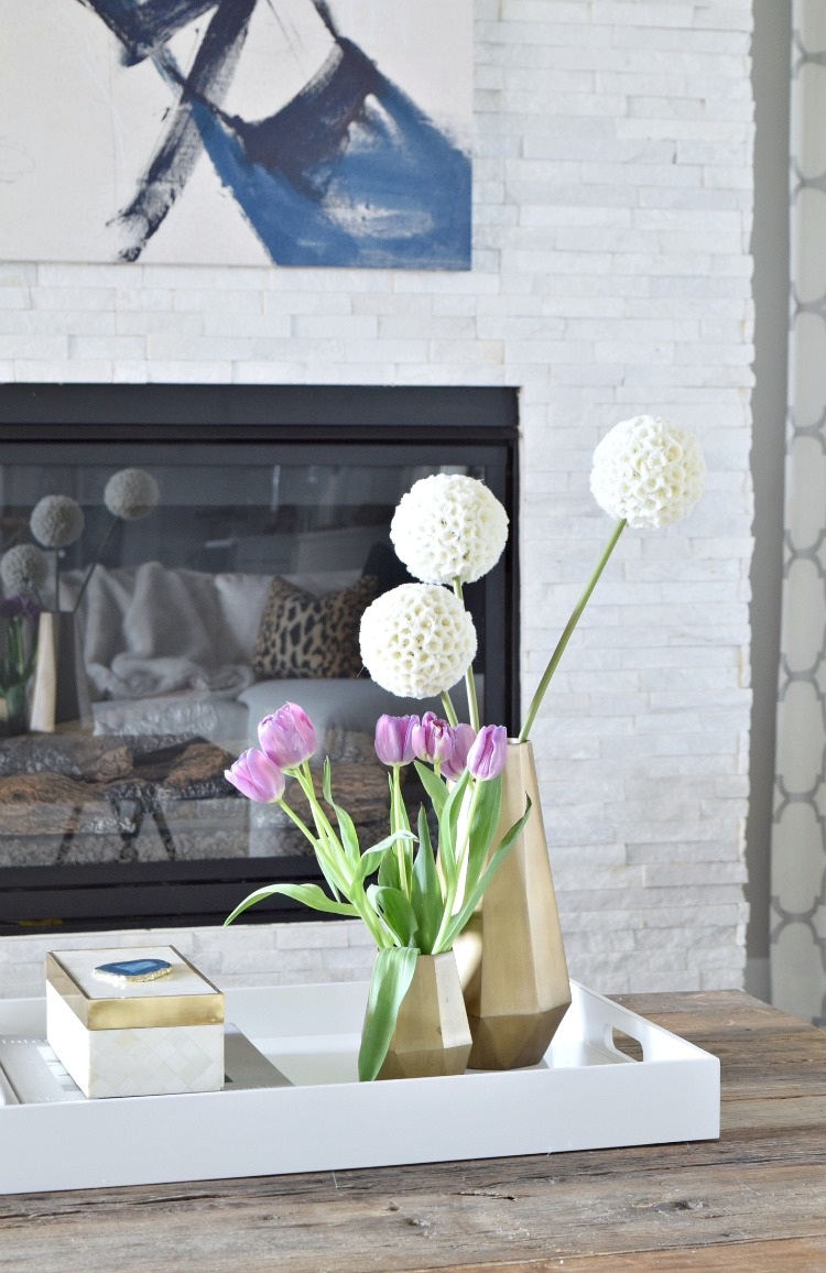 purple tulips agate accessory coasters bone inlay box white lacquer tray brass faceted vases white stone fireplace
