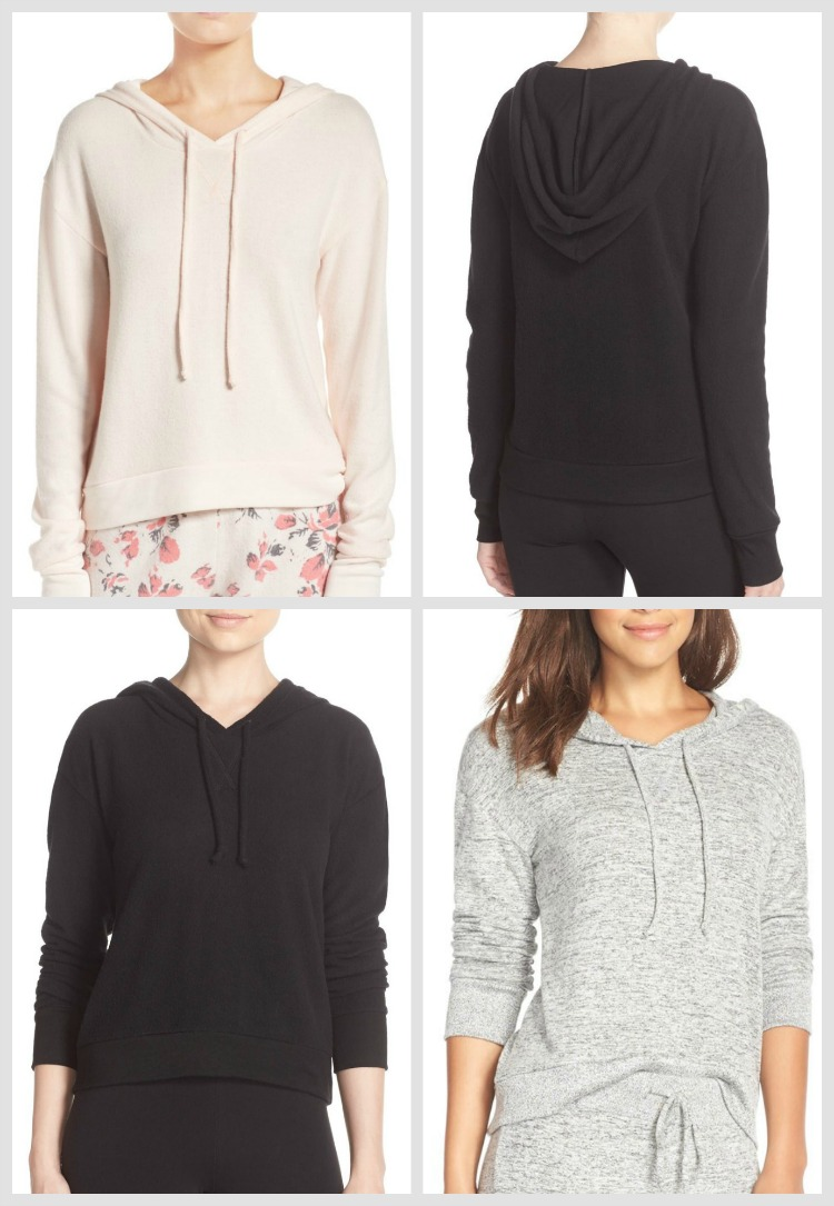 Make + Model Sofest Pullover Hoodie PJs at Nordstrom