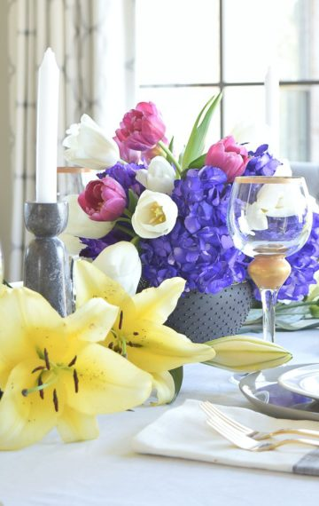 A Modern Easter Table Scape Holiday Entertaining Tour