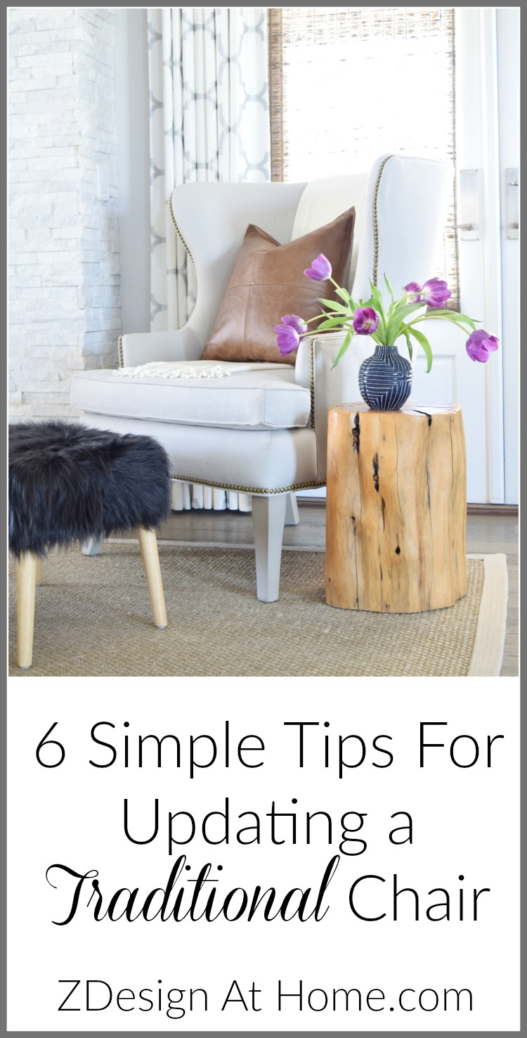 Simple Tips for Updating Traditional Furniture