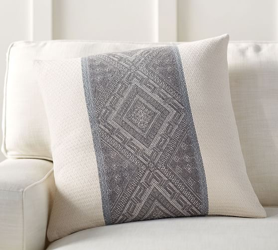 Pottery barn jace-diamond-band-jacquard-pillow-cover-c