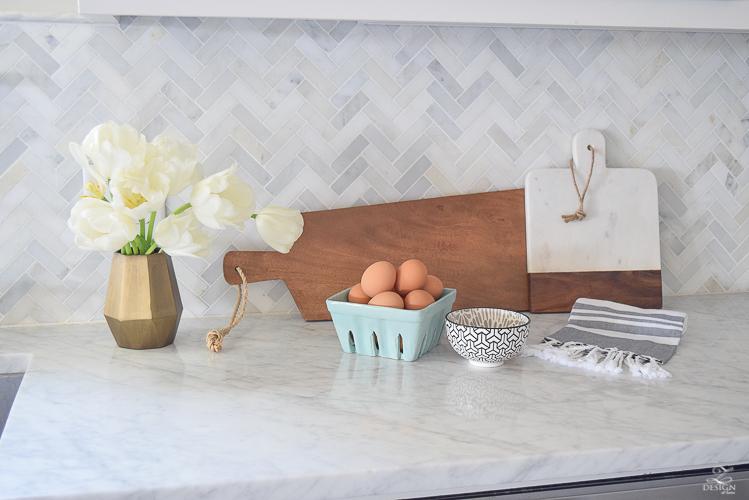 Zdesign At Home Spring Tour White Farmhouse Kitchen Marble