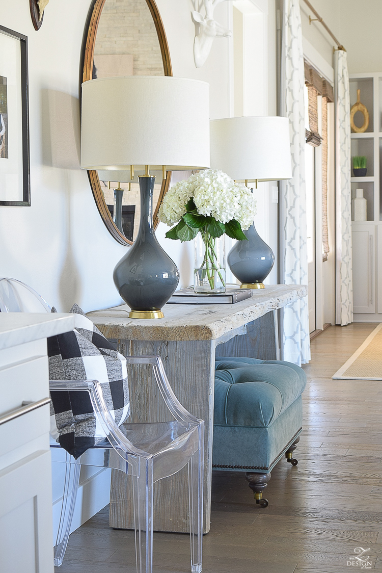 how to make your home feel cozy with lighting and mirrors