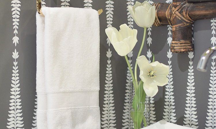 7 Tips for Designing a Beautiful Powder Bath + a Powder Room Reveal Tour