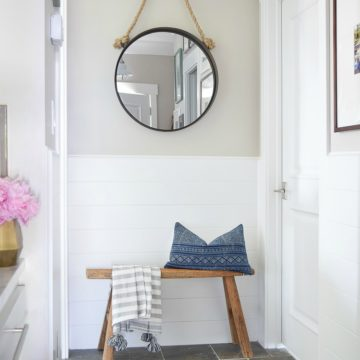 5 Tips for A Beautiful and Organized Entry + Room Reveal