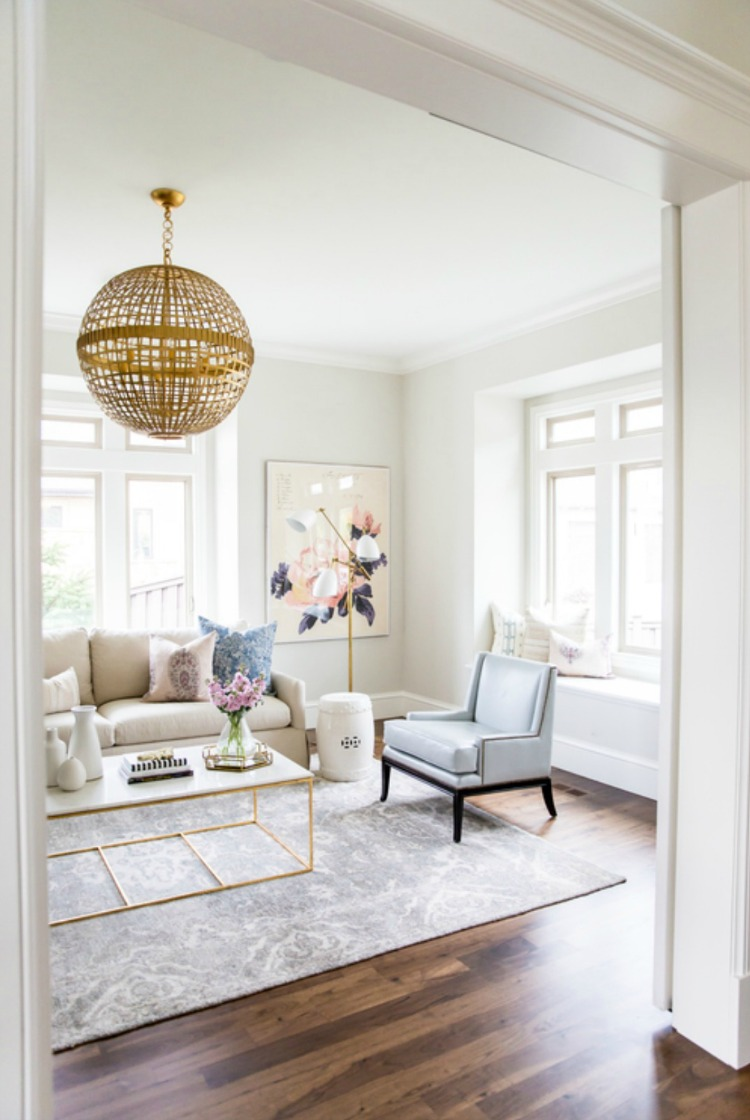 Simply White Living Room Ideas: White Is The New Gray (Paint)!