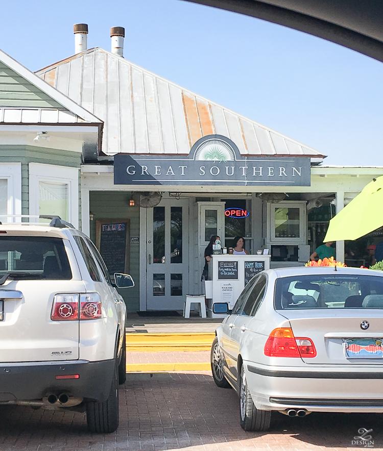 Great Southern Cafe Review in Seaside, FL best places to eat in Seaside review of great southern cafe best restaurants in santa rosa fl best restaurants in destin fl-1