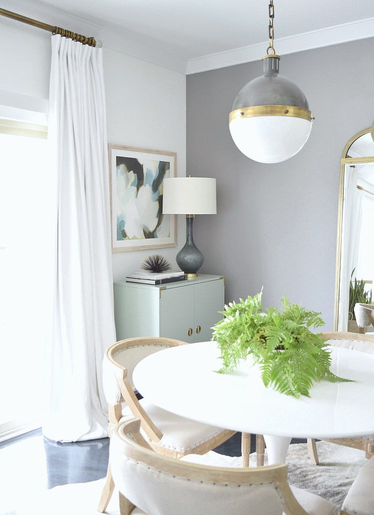 How to mix and match lighting in an open concept home