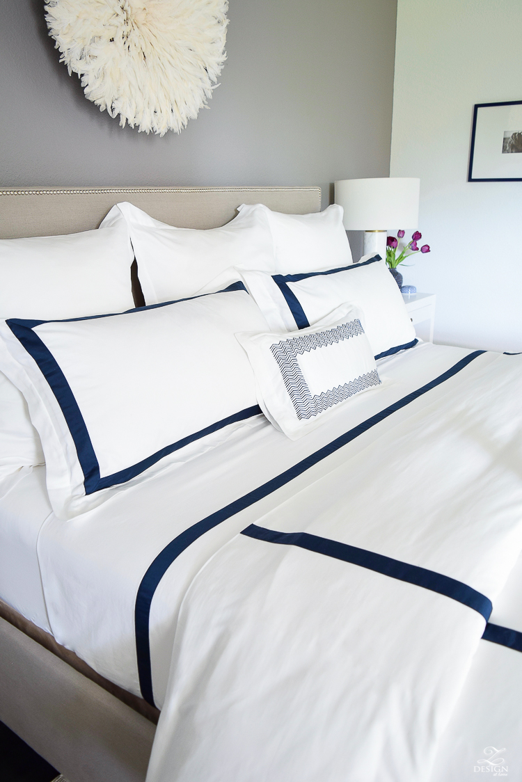 boll branch sheets review. Review Of Boll \u0026 Branch Sheets White Hotel Bedding With Navy Band Cable Knit Throw B