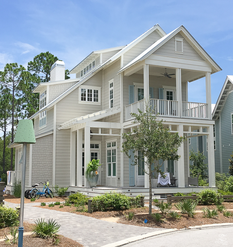 beach house for rent in watercolor fl with a pool coastal cottage design santa rosa beach fl beach house design coastal house decor-1