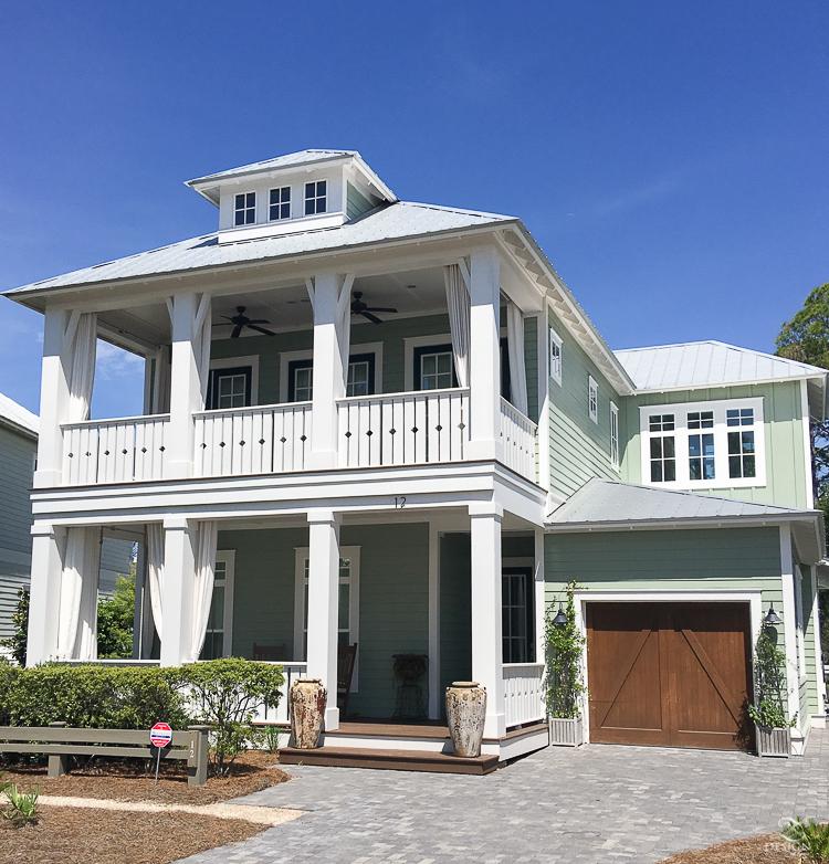Beautiful Coastal Home In Watercolor Fl Homes To Santa Rosa Beach Wtih A
