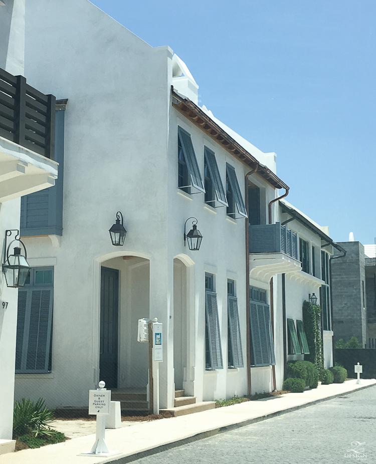 quaint homes in Alys Beach, Florida