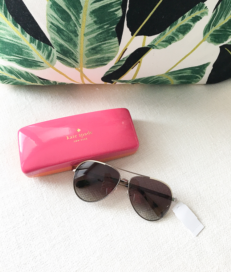 nordstrom annivery sale fall 2017 kate spade aviator sunglasses-1