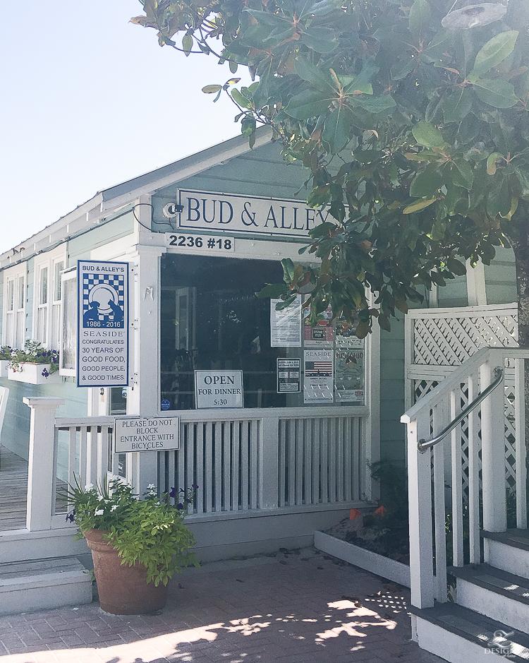 review of bud & Alley's restaurant in seaside fl best places to eat in seaside fl beast places to eat in santa rosa beach fl-1