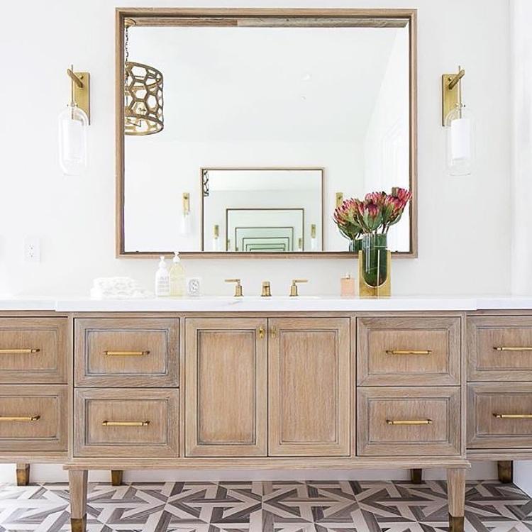 Finally home project inspiration photos breaking - Custom bathroom vanities houston ...