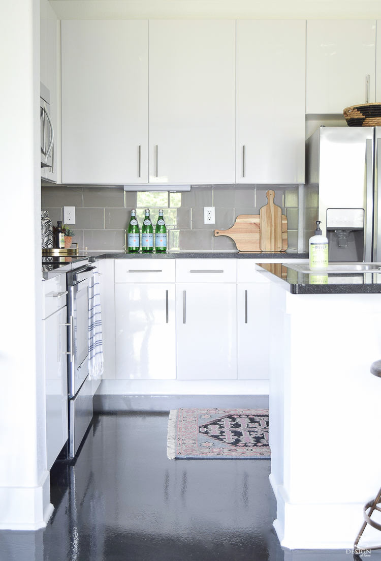 How to style your kitchen counters