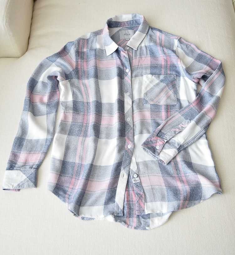 Pink and Blue Rails Plaid Shirt - comes in multiple colors