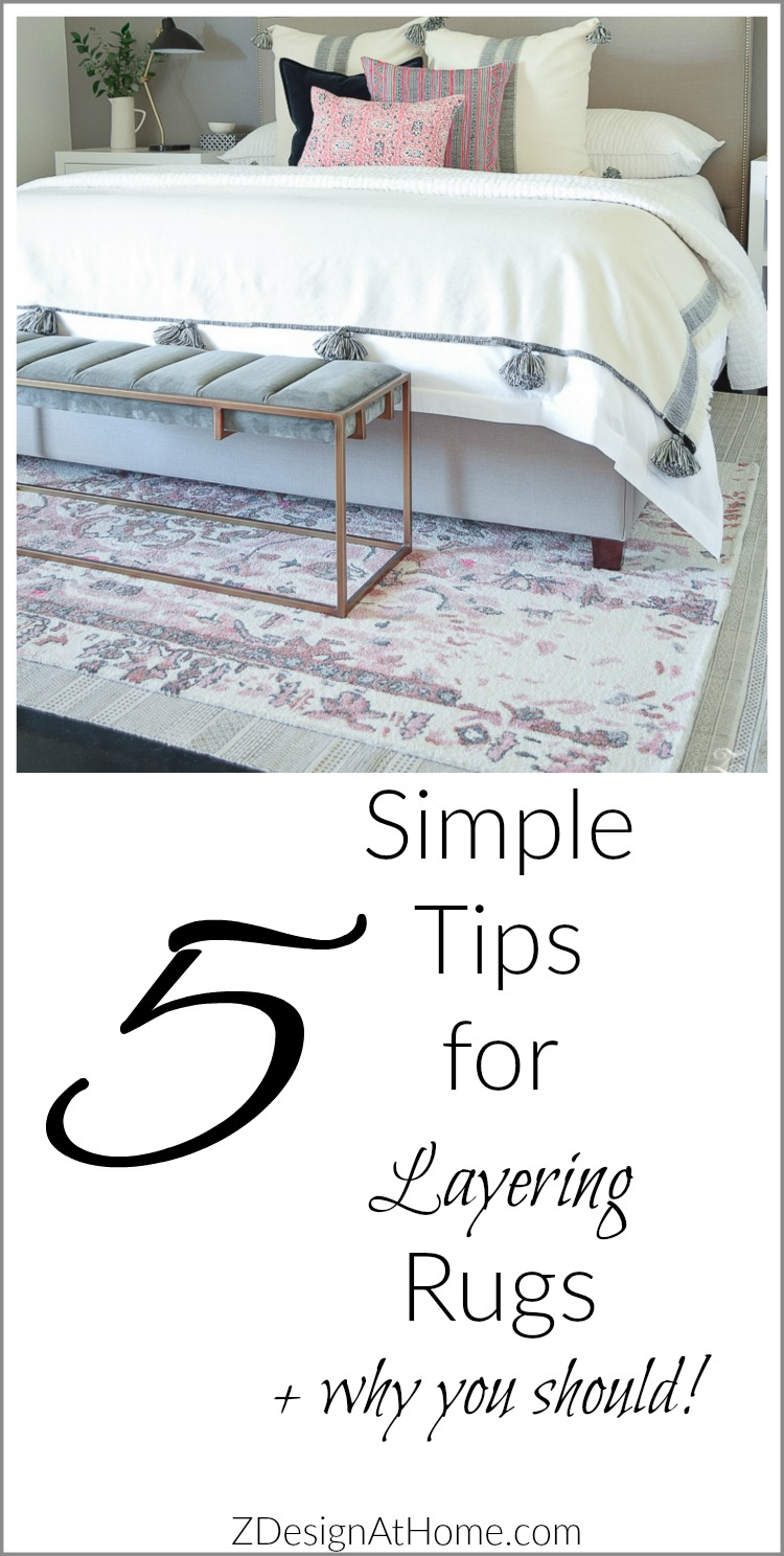 5 Simple Tips for Layering Your Rugs + Why You Should!