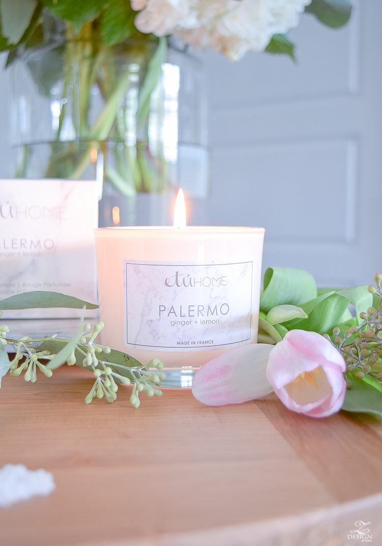 Modern Sustainable Essential Oil Scented Candles from France
