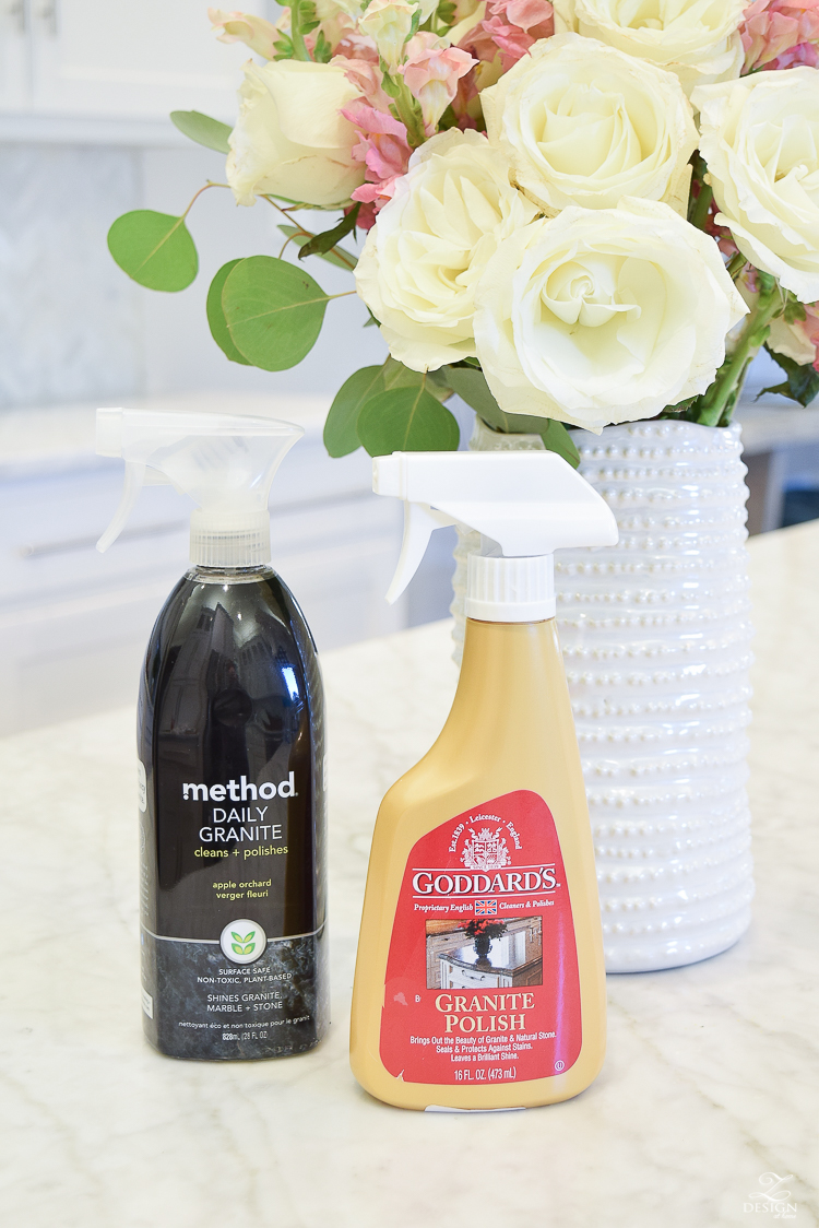 The Pros and Cons of Marble Countertops + Daily Method & Goddards stone cleaner