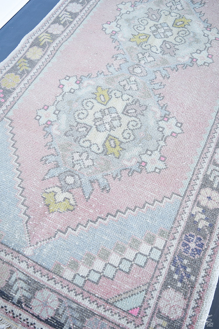 Turkish, vintage rugs with muted shades and subtle pattern perfect for any space