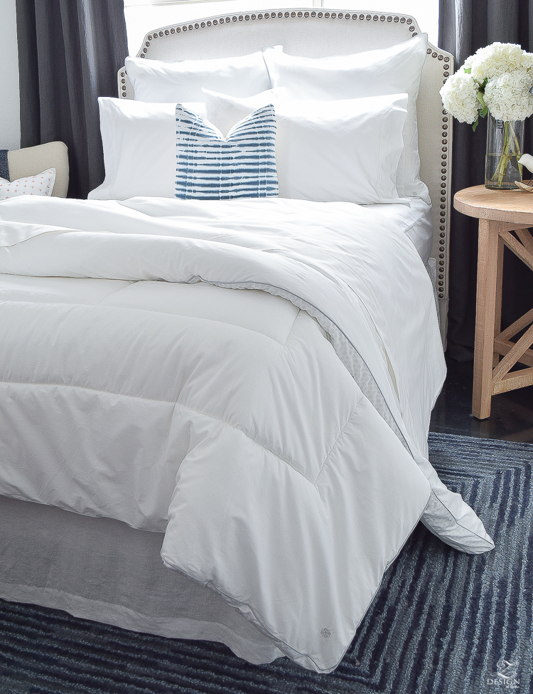 Beautiful, sustainable, 100% cotton organic affordable bedding.