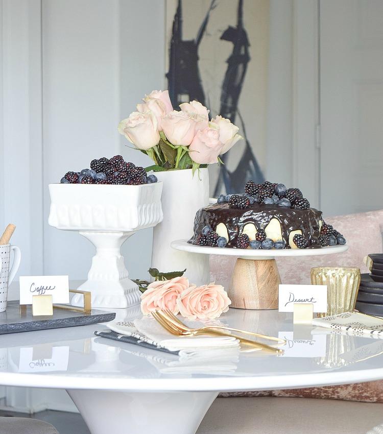 Fake It, Don't Bake It: Stress Free Holiday Hosting