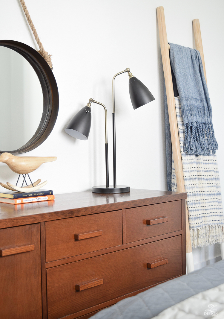 Boho Chic Boys Bedroom + Tips for Layering Any Bed
