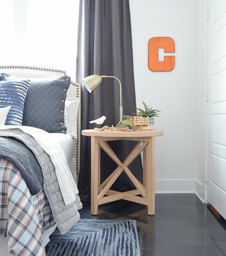 Boy's Boho Chic Bedroom Reveal + Tips for Layering Any Bed