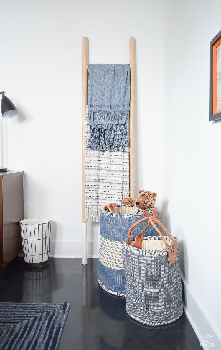 Boys Boho Bedroom Reveal + Tips for Layering Any Bed