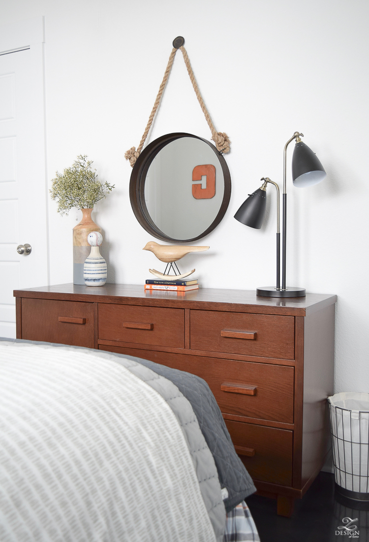 Boy\'s Boho Chic Bedroom Reveal + Tips for Layering Any Bed