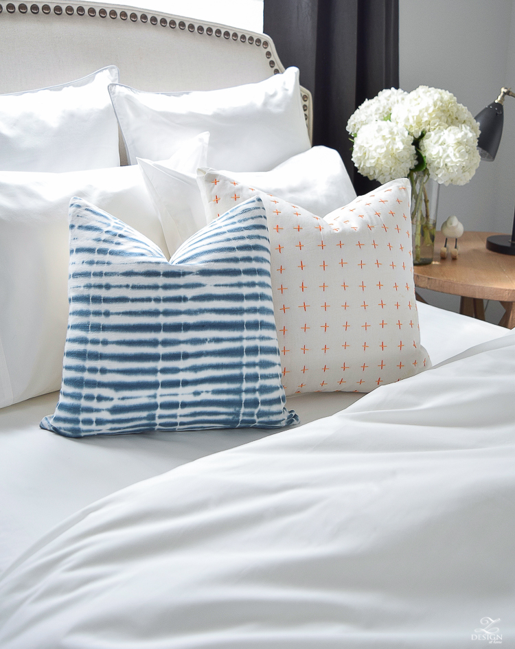 The best and softest organic cotton bedding essentials and decorative pillows. Bedding products that are ethically made and eco-friendly