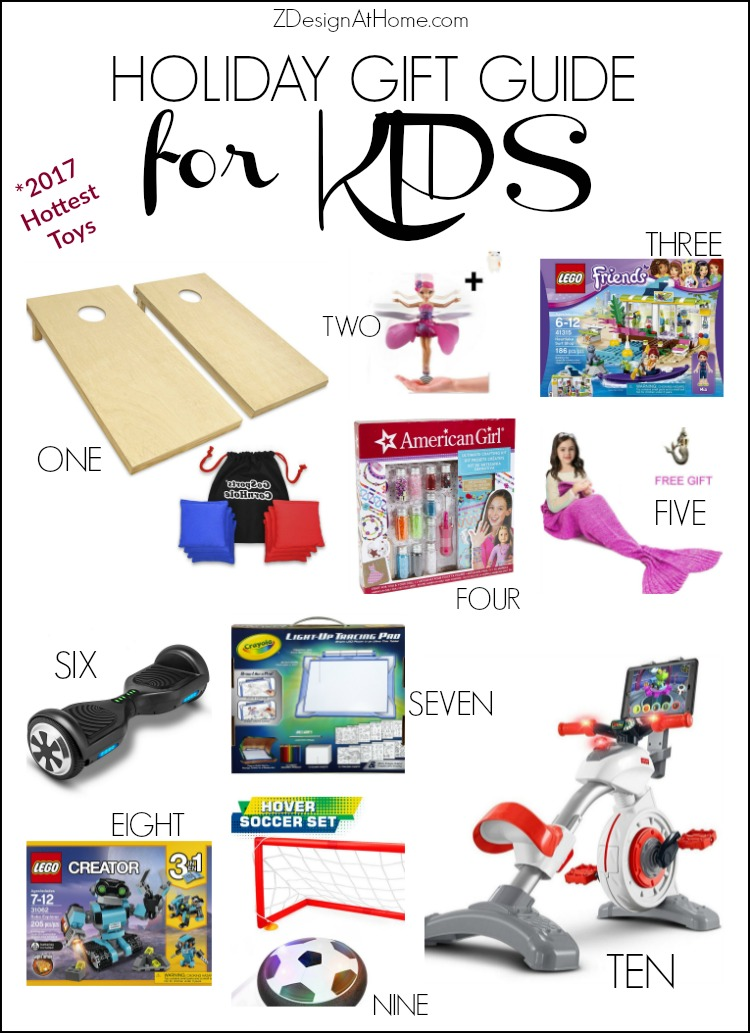 ZDesign At Home Gift Guide for Kids - from your favorite home decor bloggers (hop)
