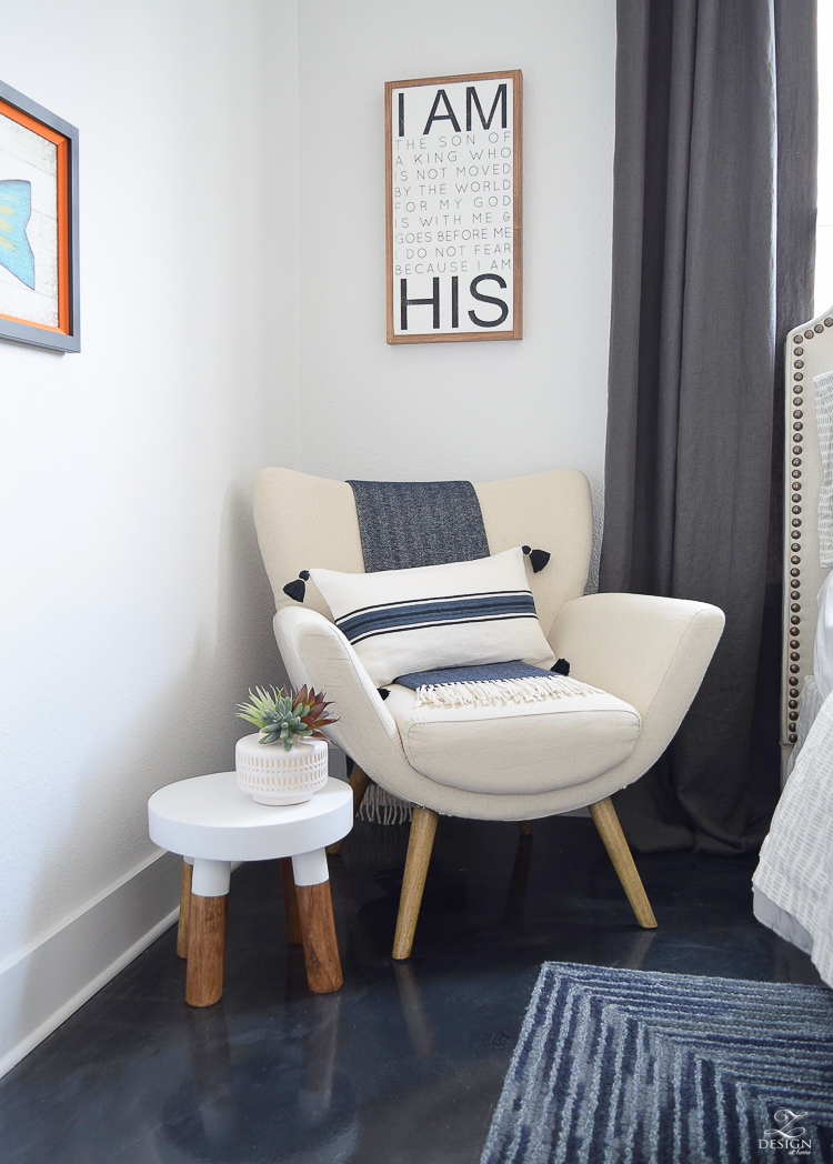 Boys Boho Chic Bedroom Reveal + Tips For Layering Any Bed