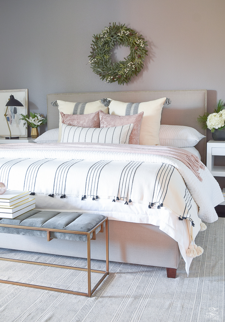 Christmas in the Bedroom - ZDesign At Home Christmas Home Tour