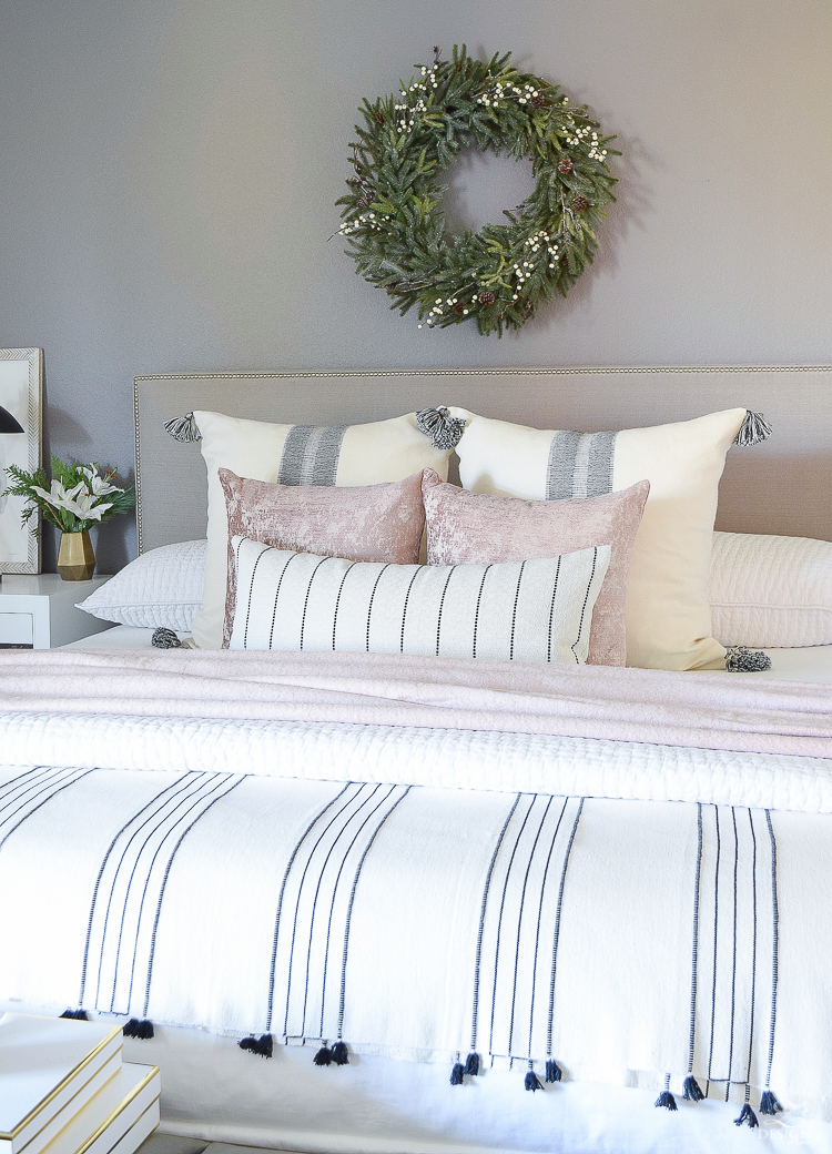 Christmas in the Bedroom - ZDesign At Home