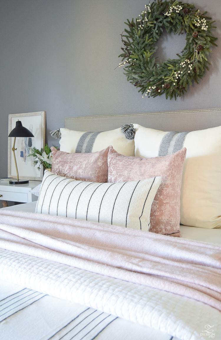 Christmas Home Tour w/ ZDesign At Home - Christmas Bedroom