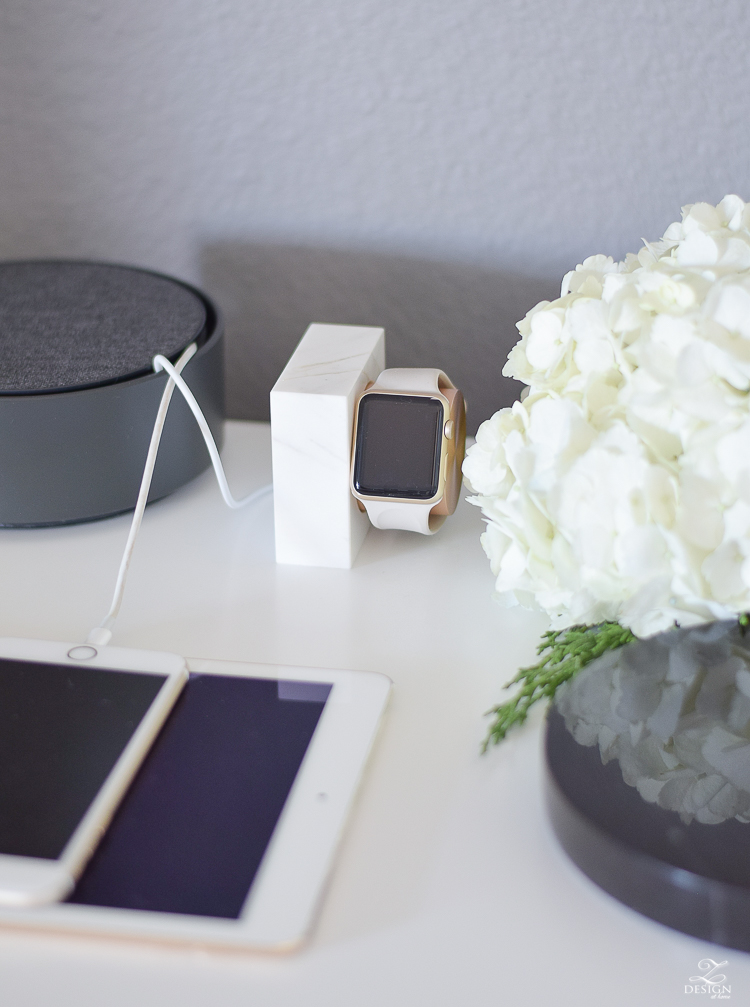 The best way to charge your apple watch and to hide those messy device cables