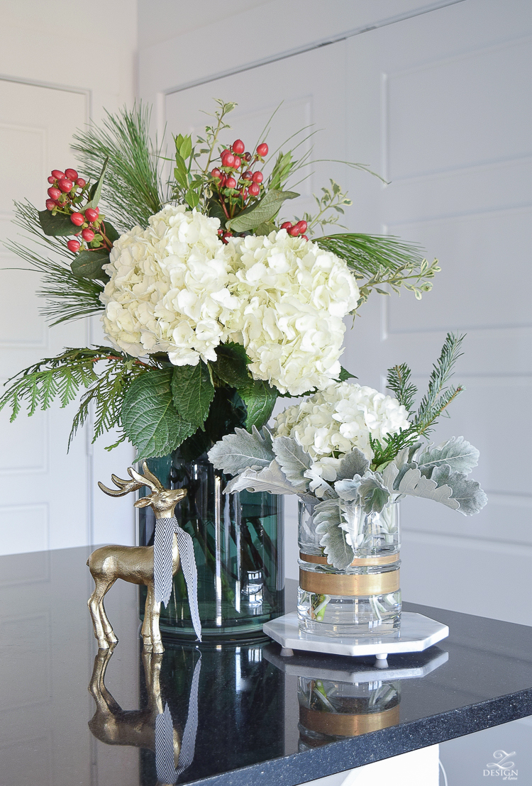 Glam christmas living room tour tips for easy holiday decorating in my living room you can find the marble trivet here i use them to elevate flowers like mentioned before but i also use them for their intended reviewsmspy
