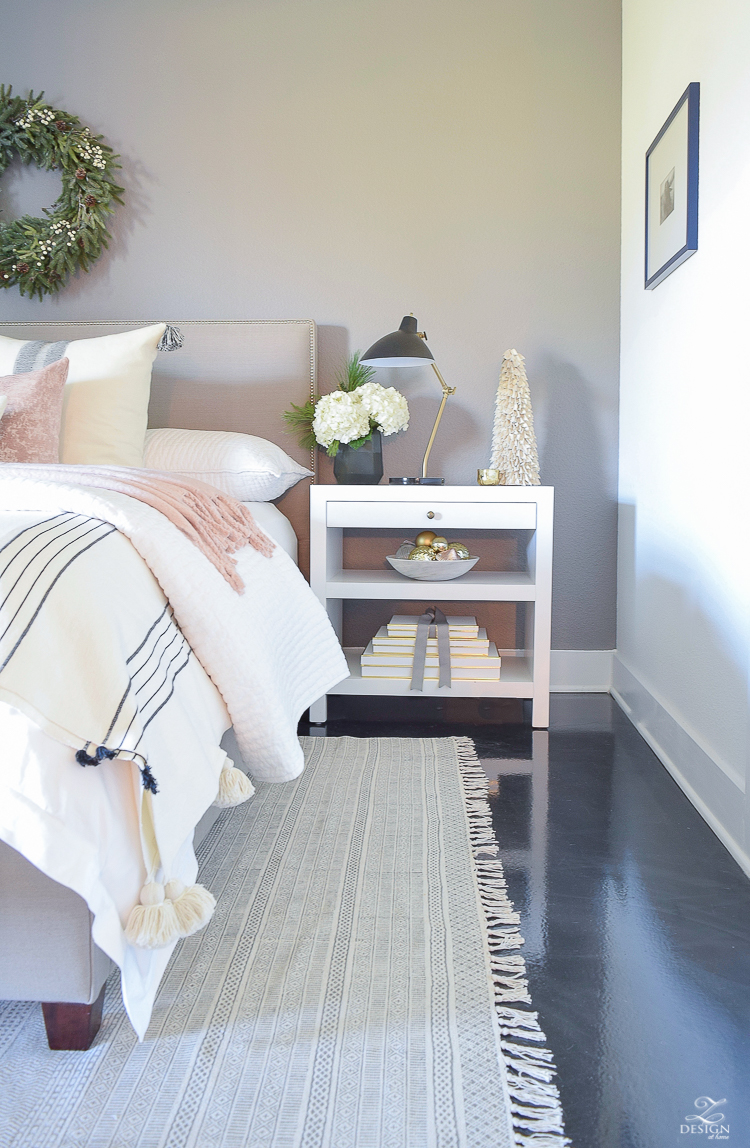ZDesign At Home Christmas Home Tour - Christmas in the bedroom