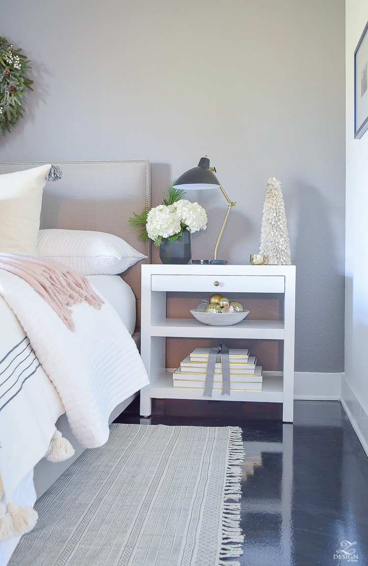 Modern White nightstand