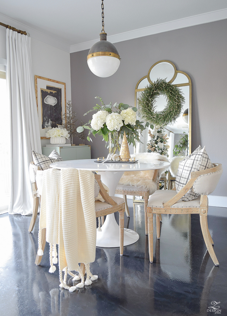 ZDesign At Home Christmas Dining Room Tour