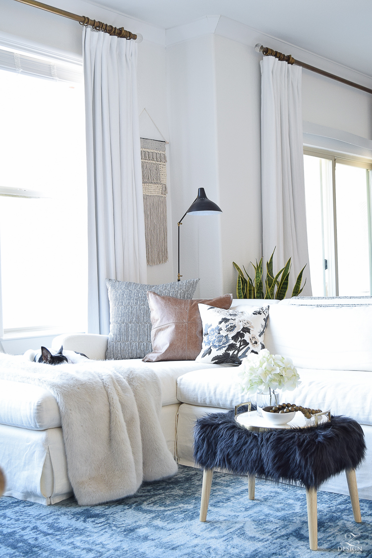 How to beat those winter decor blues + plus a home tour