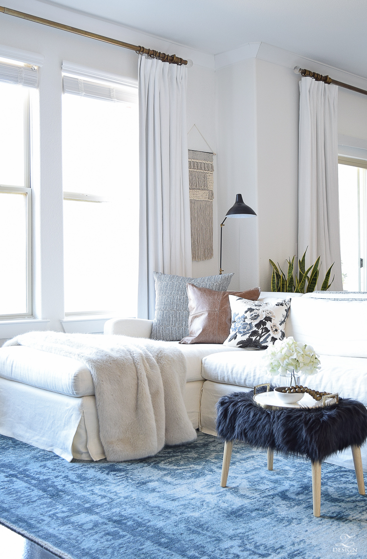 How to beat those winter decor blues + a winter room tour
