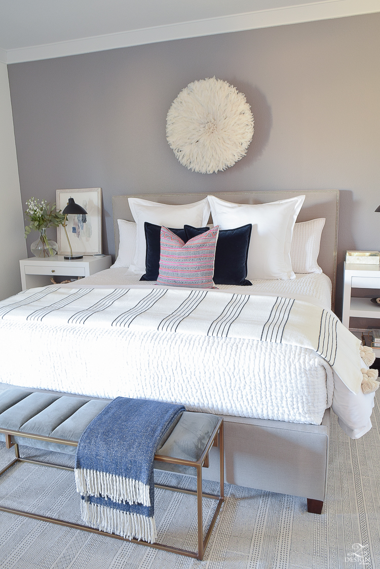 Tips to cozy your nest + A Winter bedroom tour