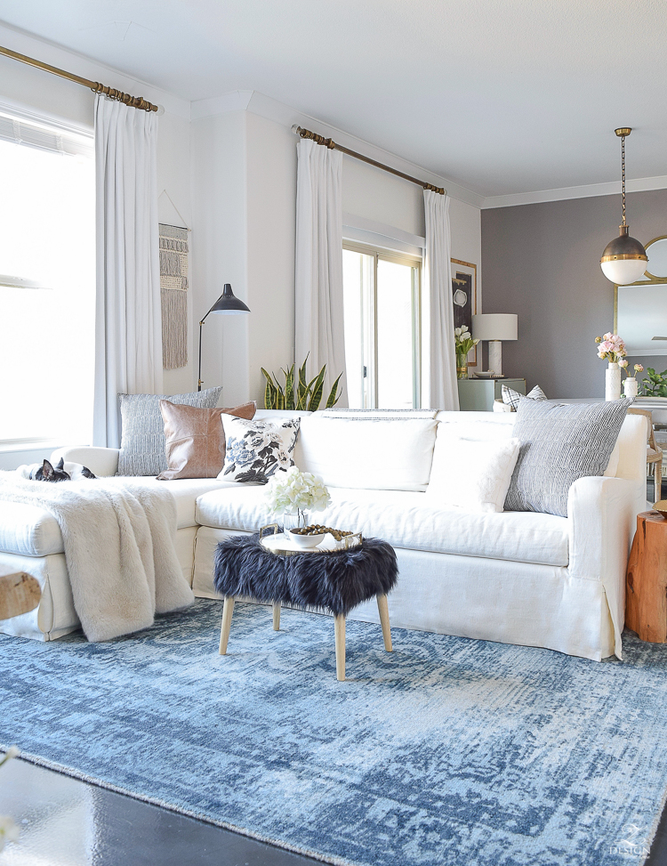 5 Tips on how to beat those winter decor blues + a winter home tour